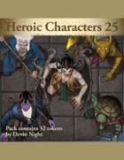 Devin Token Pack 129 - Heroic Characters 25