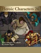 Devin Token Pack 130 - Heroic Characters 26