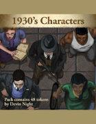 Devin Token Pack 135 - 1930's Characters