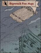 Shipwreck free isometric battlemap pack
