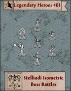 Legendary Heroes #01 free isometric token pack