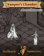 Stelliadi Isometric Patreon Pack #50: Vampire's Chamber (Monochromatic)