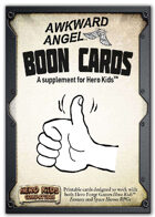 Boon Cards - A Hero Kids Compatible Supplement
