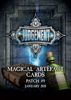 Judgement Magical Artefacts - Patch 9
