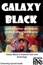 Galaxy Black IV Economics, Equipment, Gear, & Technology,  Space Trader Nick's Coreworld Consultant and Frontier Survival Supply Catalog (Third Quadrant,  957th Sidereal)