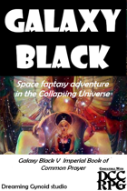 Galaxy Black V The Imperial Book of Common Prayer