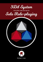 3d8 System and other rules and tips for solo roleplaying
