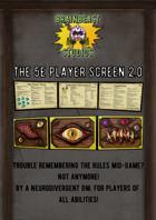 FULL COLOUR MIMIC EDITION: The 5E Player Screen