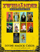 ZWEIHANDER Grim & Perilous RPG: Divine Magick Cards