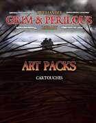 Art Pack: Cartouches (Grim & Perilous Library) - Templates for Zweihander RPG