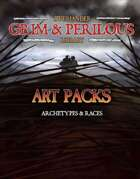 Art Pack: Archetypes & Professions (Grim & Perilous Library) - Templates for Zweihander RPG