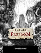 Flames of Freedom: Professions – Powered by Zweihander RPG