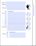Fillable Luna Character Sheet