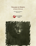 College of Spirits -- 5e Bard Subclass