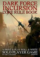 Dark Force Incursion Rule Book