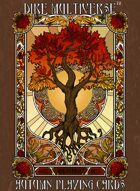Dire Multiverse Poker Deck - Autumn (Red)
