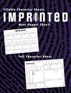 Fillable Imprinted Character Sheets