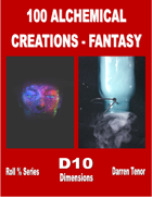 100 Alchemy Creations (Fantasy)