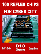 100 Reflex Chips of Cyber City
