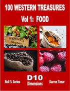 100 Western Treasures - Vol 1: Food