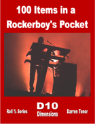100 Items in a Rockerboy's Pocket