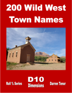 200 Wild West Town Names