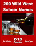 200 Wild West Saloon Names