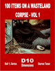 100 Items on a Post Apocalyptic Corpse Vol 1