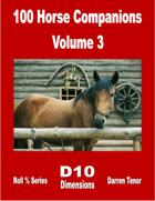 100 Horse Companions - Vol 3