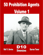 50 Prohibition Agents - Volume 1