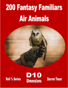 200 Fantasy Familiars - Air Animals
