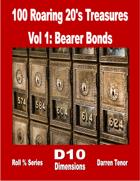 100 Roaring 20's Treasures - Vol 1 - Bearer Bonds
