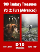 100 Fantasy Treasures - Vol 2 Furs (Advanced)