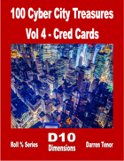 100 Cyber City Treasures - Vol 4: Cred Cards