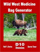 Wild West Medicine Bag Generator