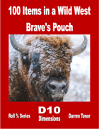 100 Items in a Wild West Brave's Pouch
