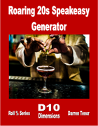 Roaring 20's Speakeasy Generator