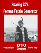 Roaring 20's Femme Fatale Generator