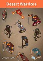 Jans Token Pack 001 - Desert Warriors