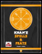 Khan's Spells & Feats for ICRPG