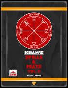 Khan's Spells & Feats for ICRPG Vol. 2
