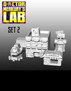 15mm Cyberpunk Scifi City Terrain Pack 2 3D Files