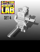 15mm Cyberpunk Scifi City Terrain Pack 4 3D Files