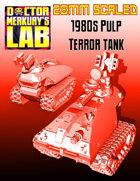 28mm Scale 1980s Terror Tank AFV