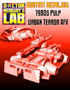28mm Scale 1980s Urban Terror AFV