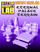 28mm Eternal Palace Scatter Terrain Retro Scifi