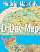 D-Day Map - No Grid - Map Only