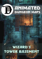 Animated Dungeon Maps: Wizard\'s Tower Basement
