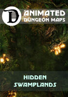 Animated Dungeon Maps: Hidden Swamplands
