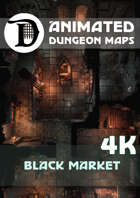 Animated Dungeon Maps: Black Market 4k